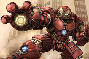 Hulkbuster 2020 Artwork Wallpaper