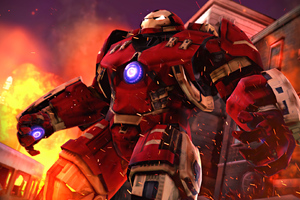 HulkBuster Into The War