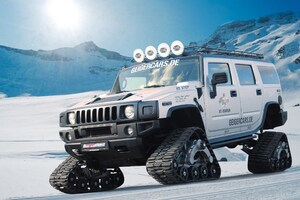 Hummer H2 Snow Modified