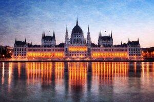 Hungary Budapest Parliament Wallpaper