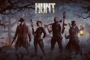HUNT Game Wallpaper