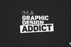 I Am A Graphic Design Addict Wallpaper