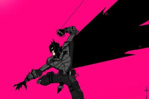 I Am Batman Minimal 4k