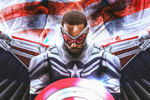 I Am New Captain America 5k Wallpaper