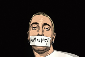 I Am Shady Eminem Art Wallpaper