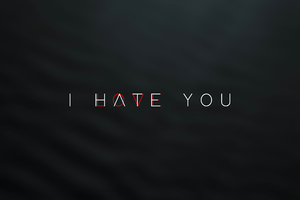 I Hate And Love You Wallpaper