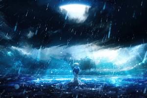 I Really Miss You Anime Girl 4k