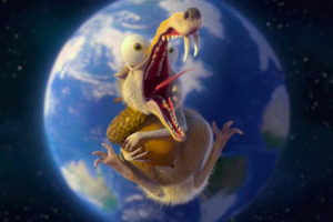 Ice Age 5 Animated Movie Wallpaper