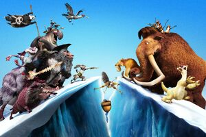 Ice Age 5k Wallpaper