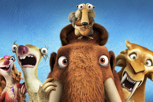 Ice Age Collision Course 4k