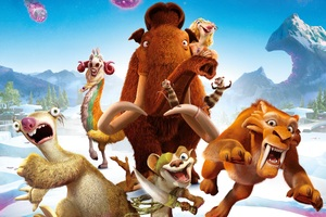 Ice Age Collision Course Animated Movie Wallpaper