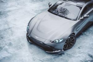 Ice Cold Aston Martin Vantage Front