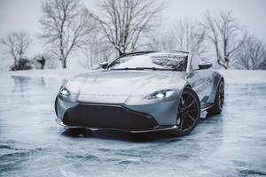 Ice Cold Aston Martin Vantage