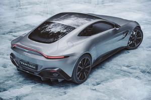 Ice Cold Aston Martin Vantage Rear