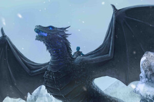 Ice Dragon Game Of Thrones 4k Wallpaper
