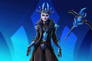 Ice Queen Fortnite 4k Wallpaper