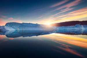 Iceberg Nature Reflection Sky