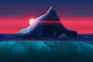 Iceberg Ocean Wallpaper