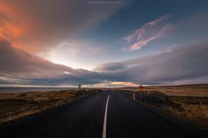 Iceland Sunset 8k Wallpaper