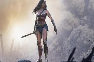 Iconic Wonder Woman Wallpaper