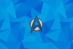 Id Logo 5k Wallpaper