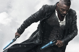 Idris Elba As The Gunslinger In The Dark Tower Movie 4k