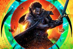 Idris Elba Thor Ragnarok 12k Wallpaper