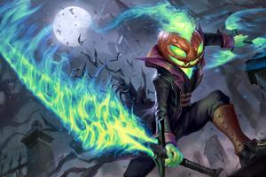 Idris Halloween 8k