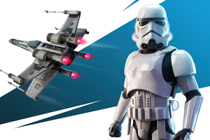 Imperial Stormtrooper Outfit Fortnite 4k