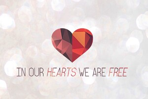 In Our Hearts We Are Free Wallpaper