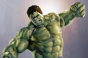 Incredible Hulk Avengers Wallpaper