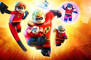 Incredibles Lego Wallpaper