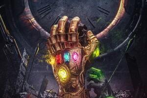 Infinity Gauntlet 4k