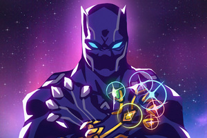 Infinity Panther Wallpaper