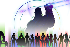 Infinity War 5k Wallpaper