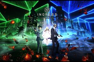 Ingress Japanese Animated Series Poster 4k Wallpaper