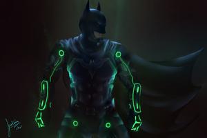 Injustice 2 Batman Art