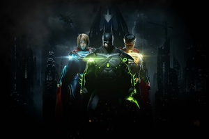 Injustice 2 Batman Superman And Supergirl