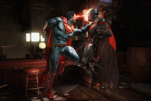 Injustice 2 Batman vs Superman