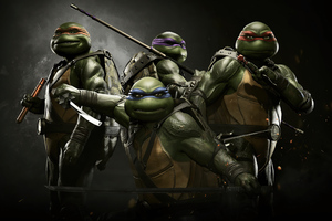 Injustice 2 Tmnt Wallpaper