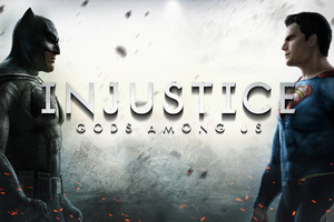 Injustice Gods Among Us BVS Key Art