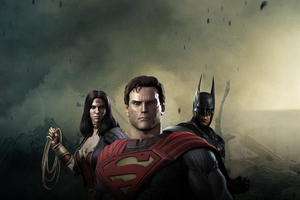 Injustice Hd Wallpaper