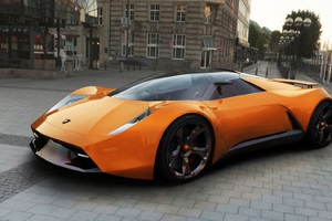 Insecta Lamborghini Concept Car