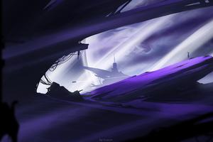 Inside Moon 4k