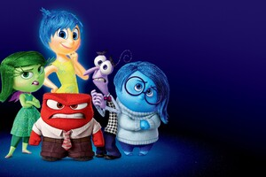 Inside Out Anger Movie Wallpaper
