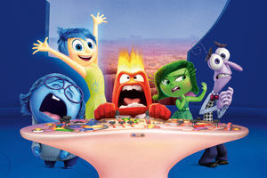 Inside Out Movie Characters