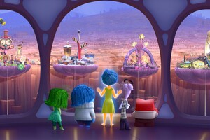 Inside Out Personality Islands Wallpaper