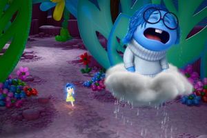 Inside Out Sadness Crying