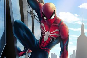 Insomniac Spiderman Wallpaper