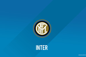 Inter Milan Football Club Logo Wallpaper